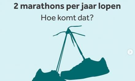 maximaal 2 marathons per jaar