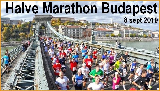 BOEDAPEST 2019 Halve Marathon
