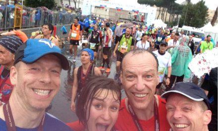"""Maratona di Roma – """"Hoezo een beetje regen?!"""""""